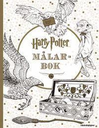 Harry Potter målarbok (häftad)