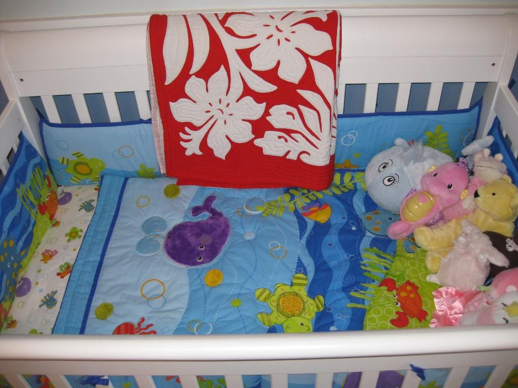 Fisher Price Ocean Crib Bedding