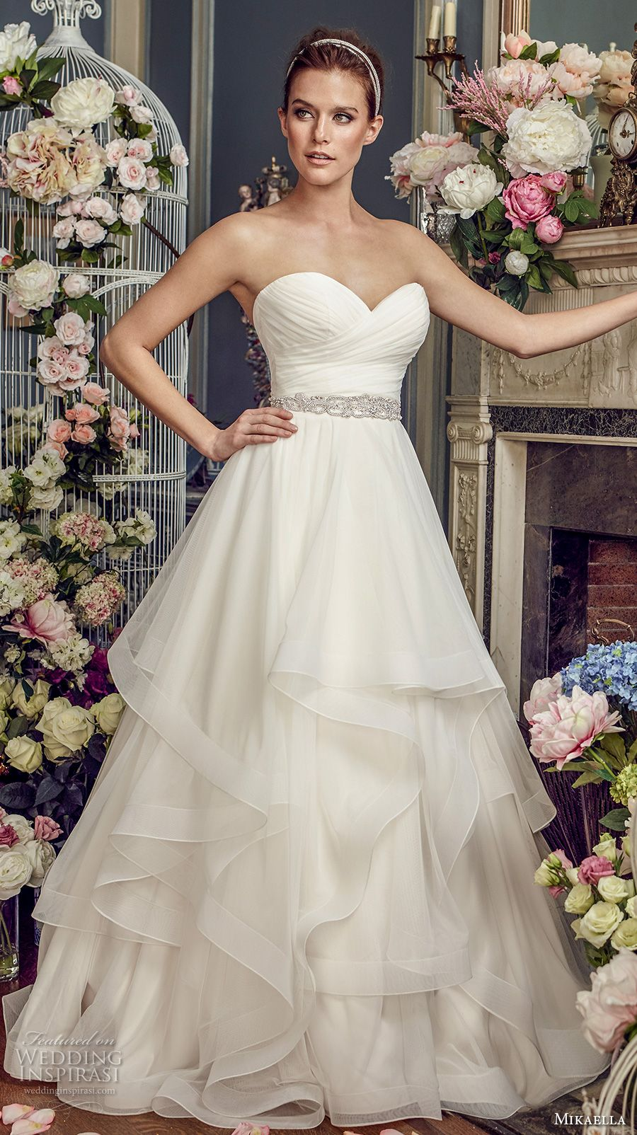 Mikaella Fall 2017 Wedding Dresses | Hochzeitskleider und Brautkleid