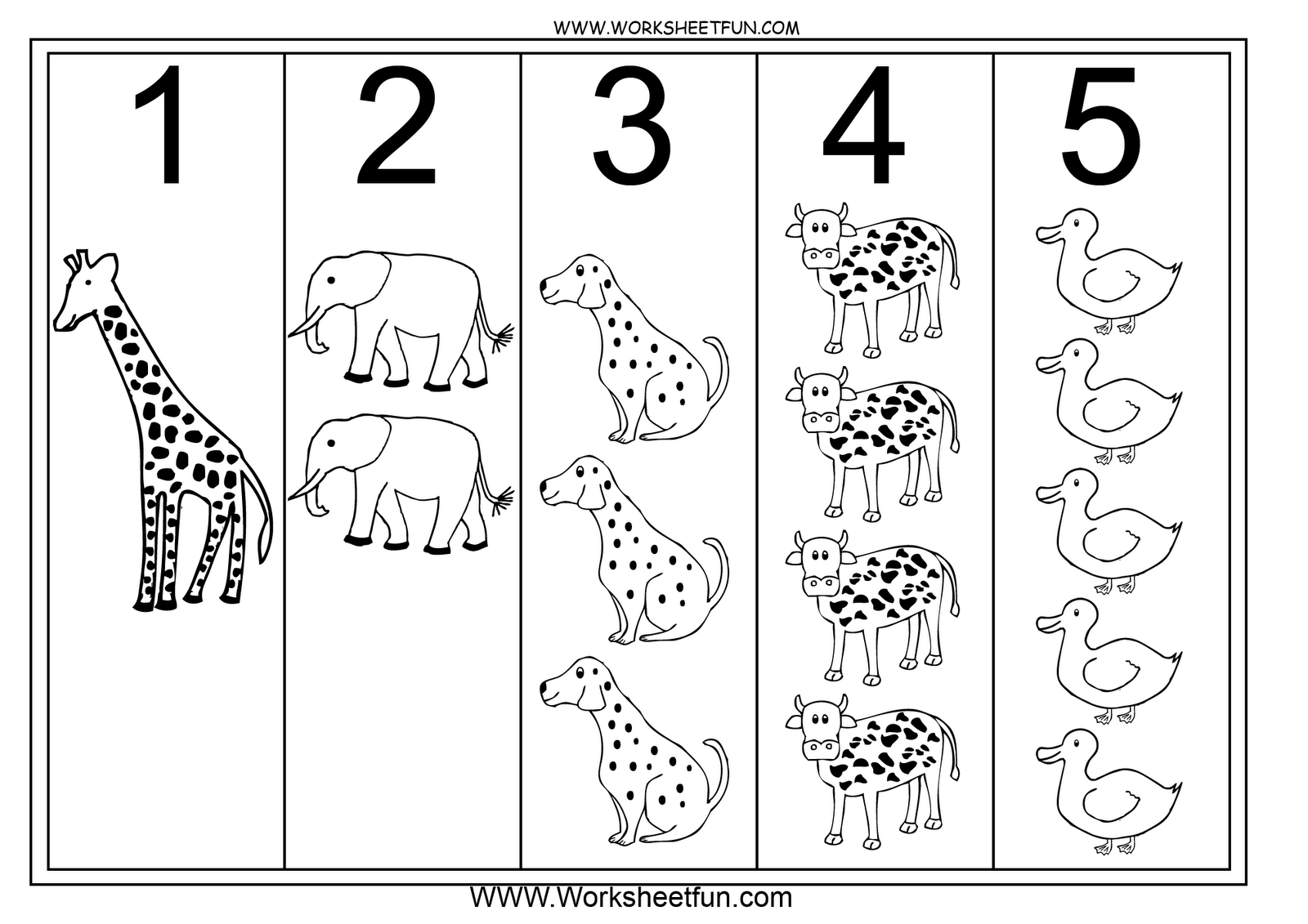 Printables Learning Numbers Worksheets 1000 images about preschool numbers on pinterest printable and dinosaur activities
