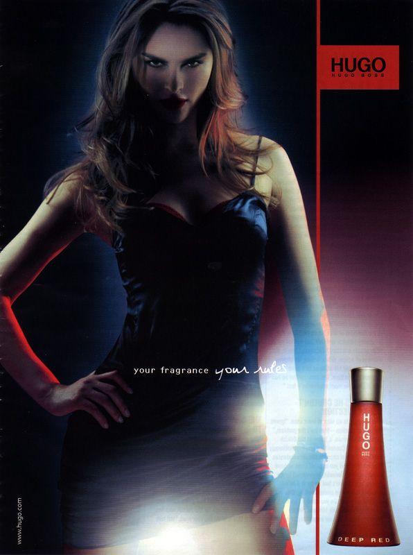 0eca23b1e7098 Hugo Boss Deep Red   Fragrance ads   Pinterest   Fragrance, Perfume ...