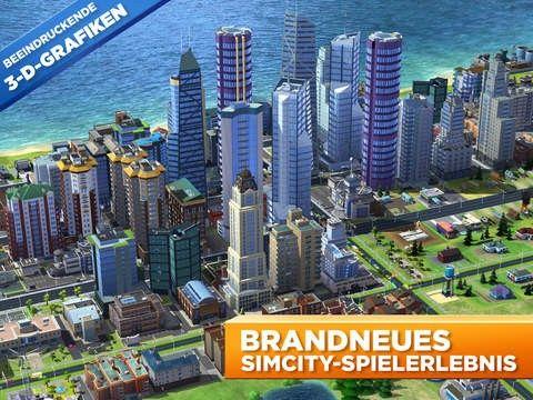 SimCity BuildIt - Mobile Städtebausimulation - kostenlos