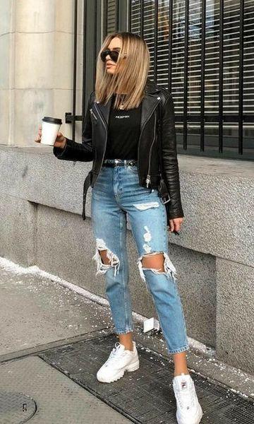 Photo of Sembra jeans distrutti