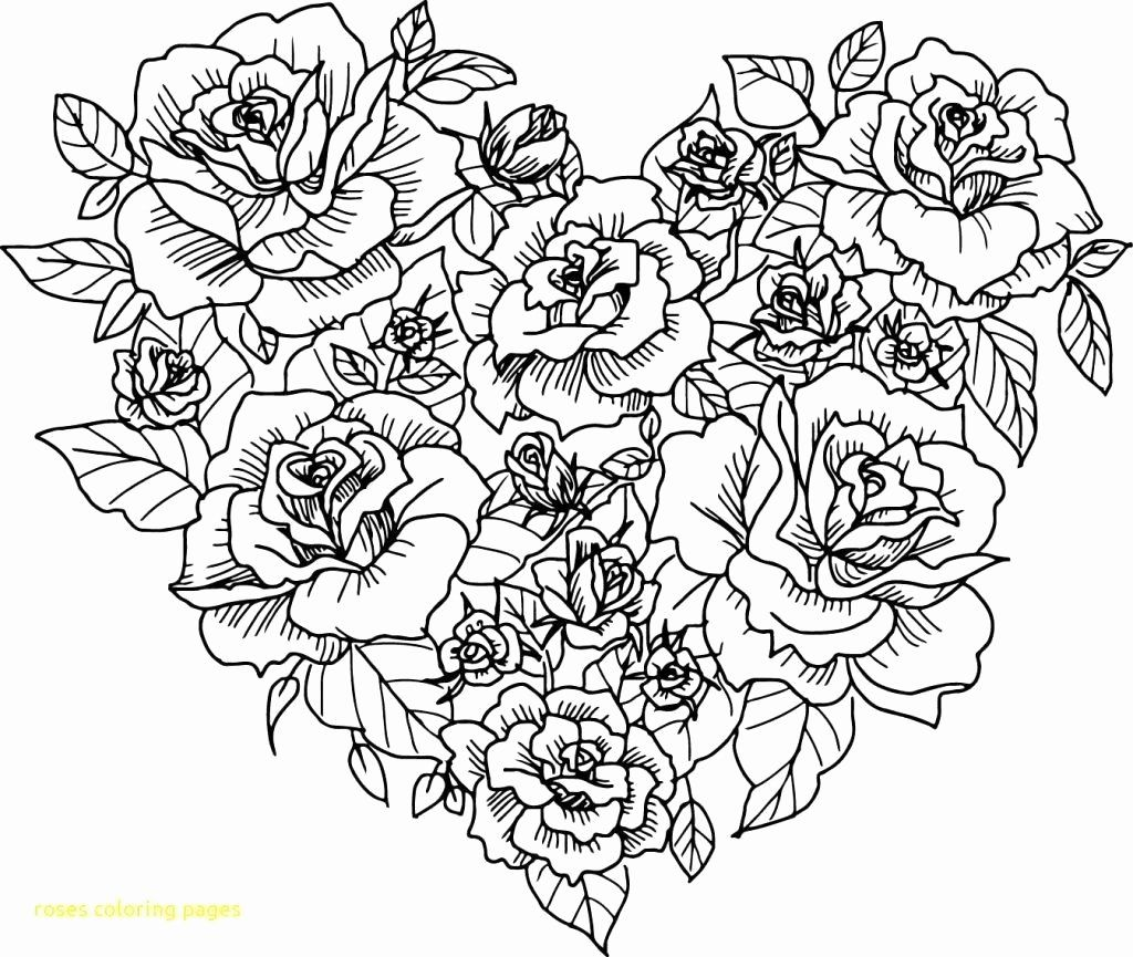 Flowers Coloring Pages For Kindergarten New Coloring Books Coloring Pages Ove Birds Free Roses In 2020 Heart Coloring Pages Rose Coloring Pages Flower Coloring Pages