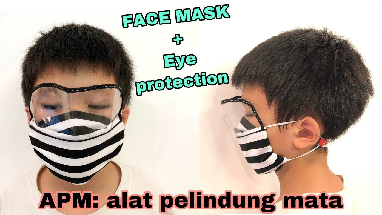 How to Make Face Mask with EYE SHIELD ( english and thai