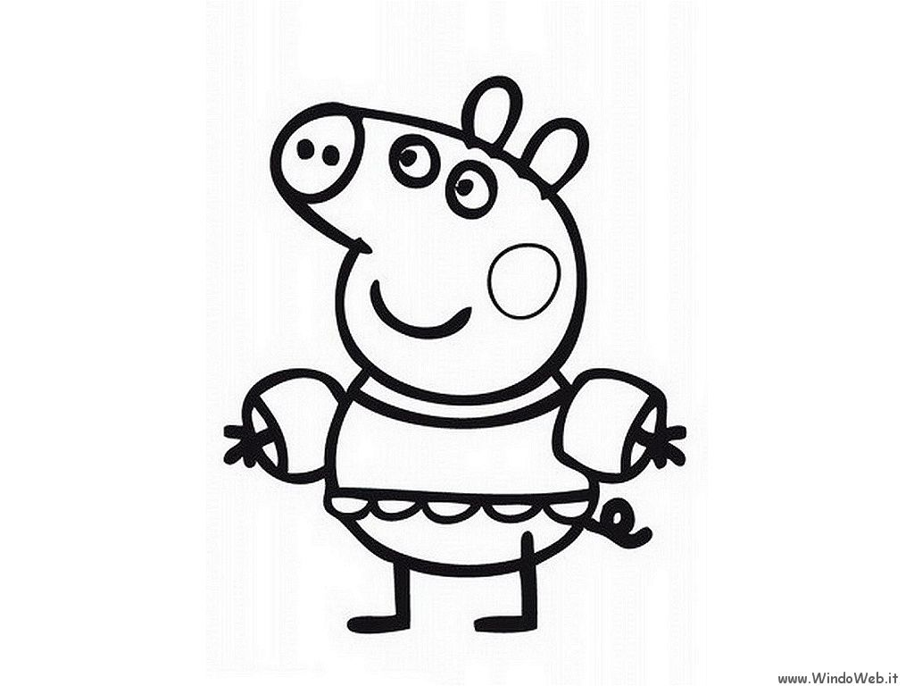 peppa pig coloring pages printable | Gallery of: 20 Peppa pig ...