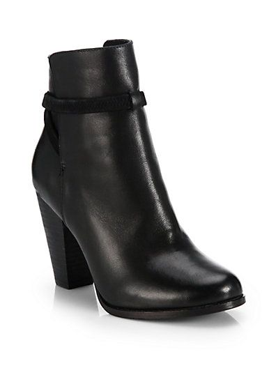 Joie Rigby Leather Ankle Boots | Footwear