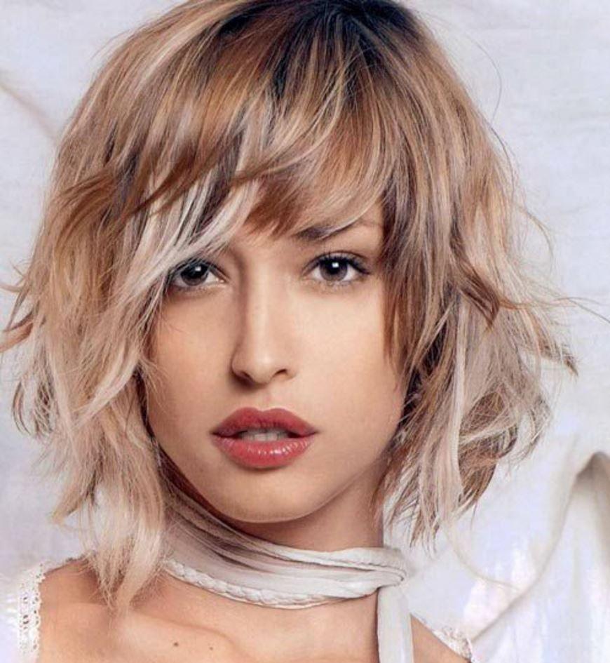 Isiltili Shag Orta Bob Kahkullu Sac Modelleri Square Face Hairstyles Medium Length Hair Styles Medium Hair Styles