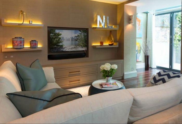 Wohnzimmer Einrichten U2013 Tipps Für Lange, Schmale Räume #flur  #schlauchzimmer #streichengrundriss #