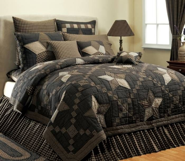 Country And Primitive Bedding Quilts Farmhouse Star Bedding By