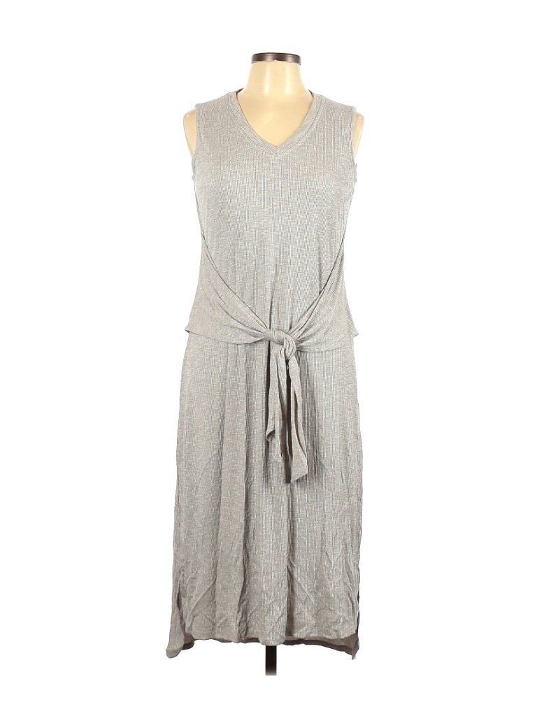H By Halston Casual Dress Sheath Gray Solid Dresses Used Size 12 In 2021 Casual Dress Dresses Solid Dress [ 1024 x 768 Pixel ]