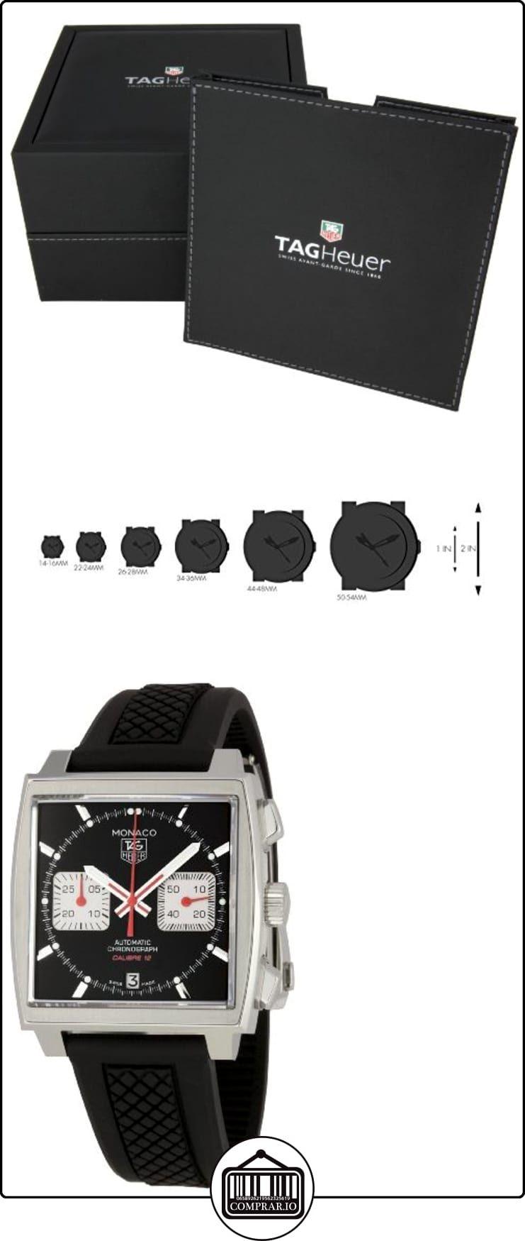 TAG Heuer CAW2114.FT6021 Monaco - Reloj automático  ✿ Relojes para hombre - (Lujo) ✿