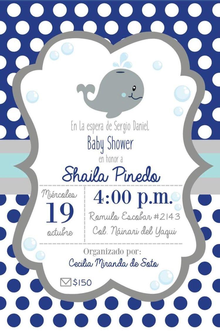Baby Shower Boy Baby Shower Invitaciones Invitaciones