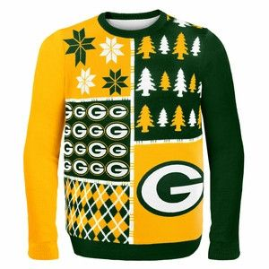 Cheeseheads Christmas Gift Ugly Green Bay Packers Sweater Fun