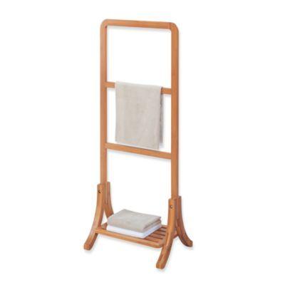 Neu Home Lohas Bamboo Towel Stand Bedbathandbeyond Would Make