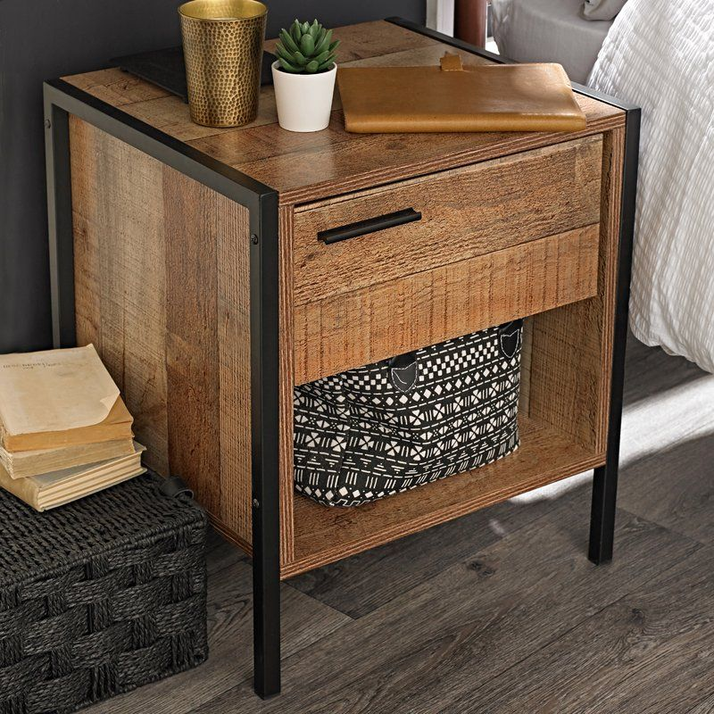 Amya 1 Drawer Bedside Table Furniture Bedside Cabinet Bedside