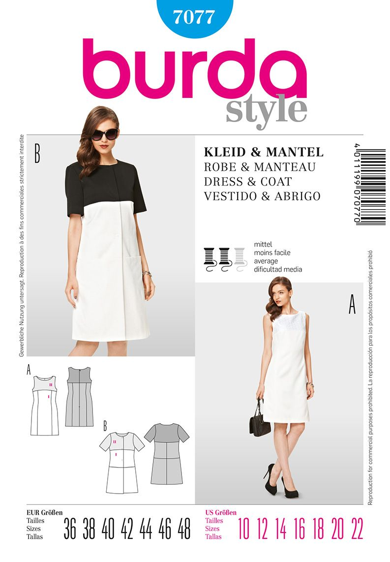 Simplicity : B7077 | Sewing | Pinterest | Costura, Vestidos and Ropa