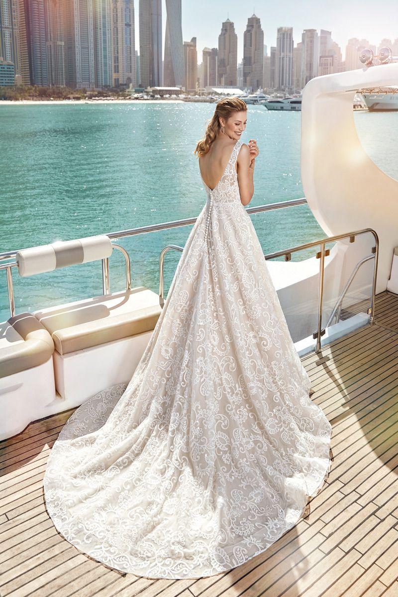 Wedding Dress SKY118 – Eddy K Bridal Gowns   Designer Wedding ...