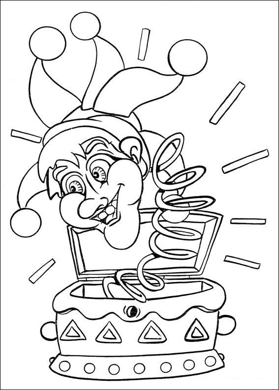32 Coloring Pages Of Carnival On Kids N Funcouk