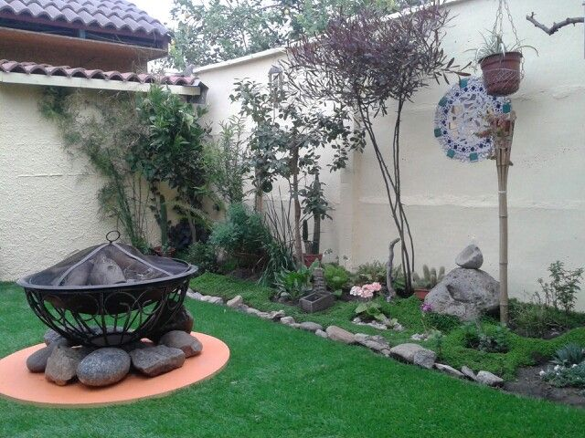 Decoracion en jardin peque o ideas mi casa for Jardines zen pequenos