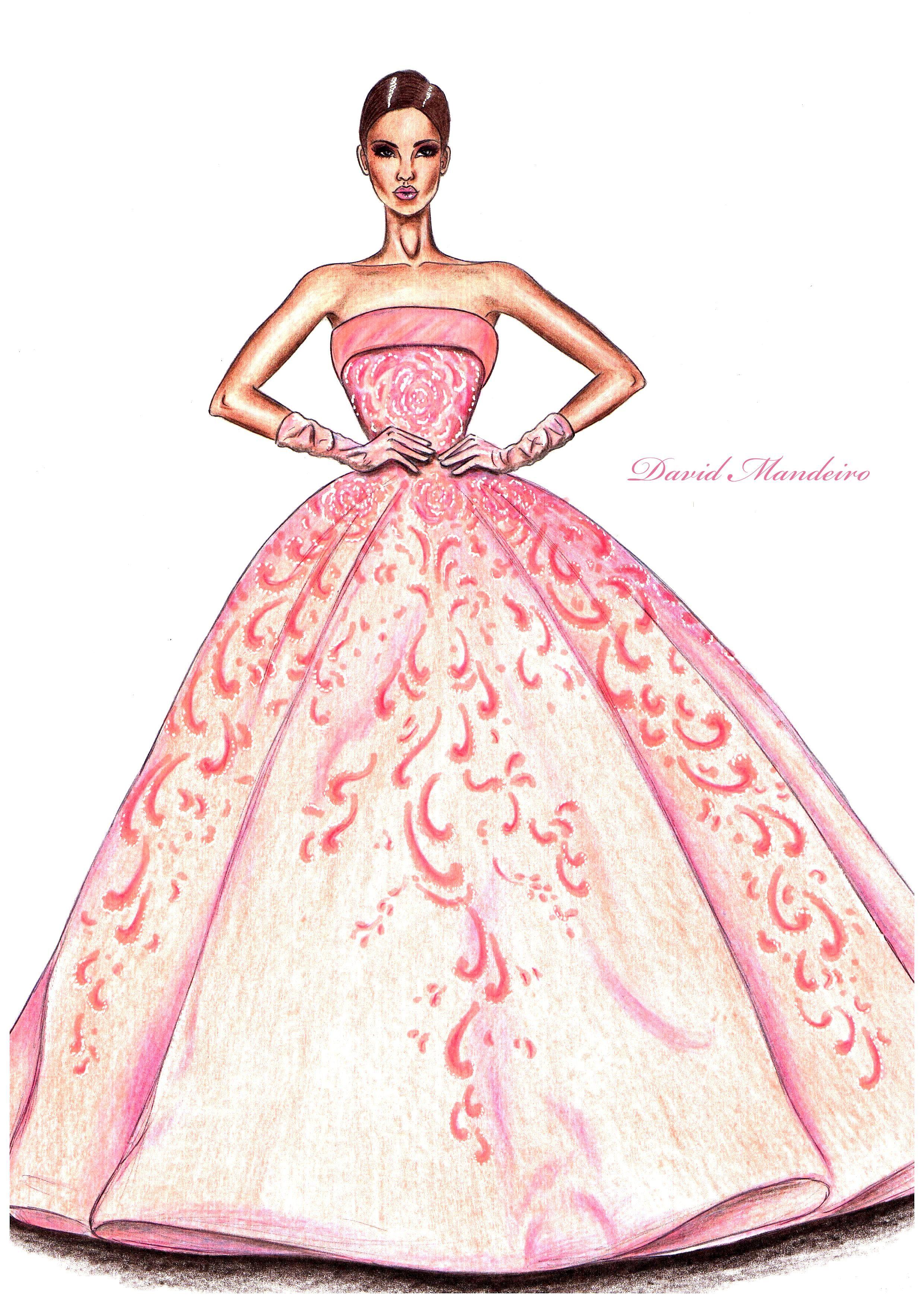 David Mandeiro Illustrations | dolls fashion | Pinterest | Figurin ...