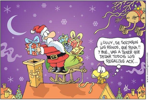 Aqui Tengo Varios Chistes De Navidad De Gaturro Espero Que Les