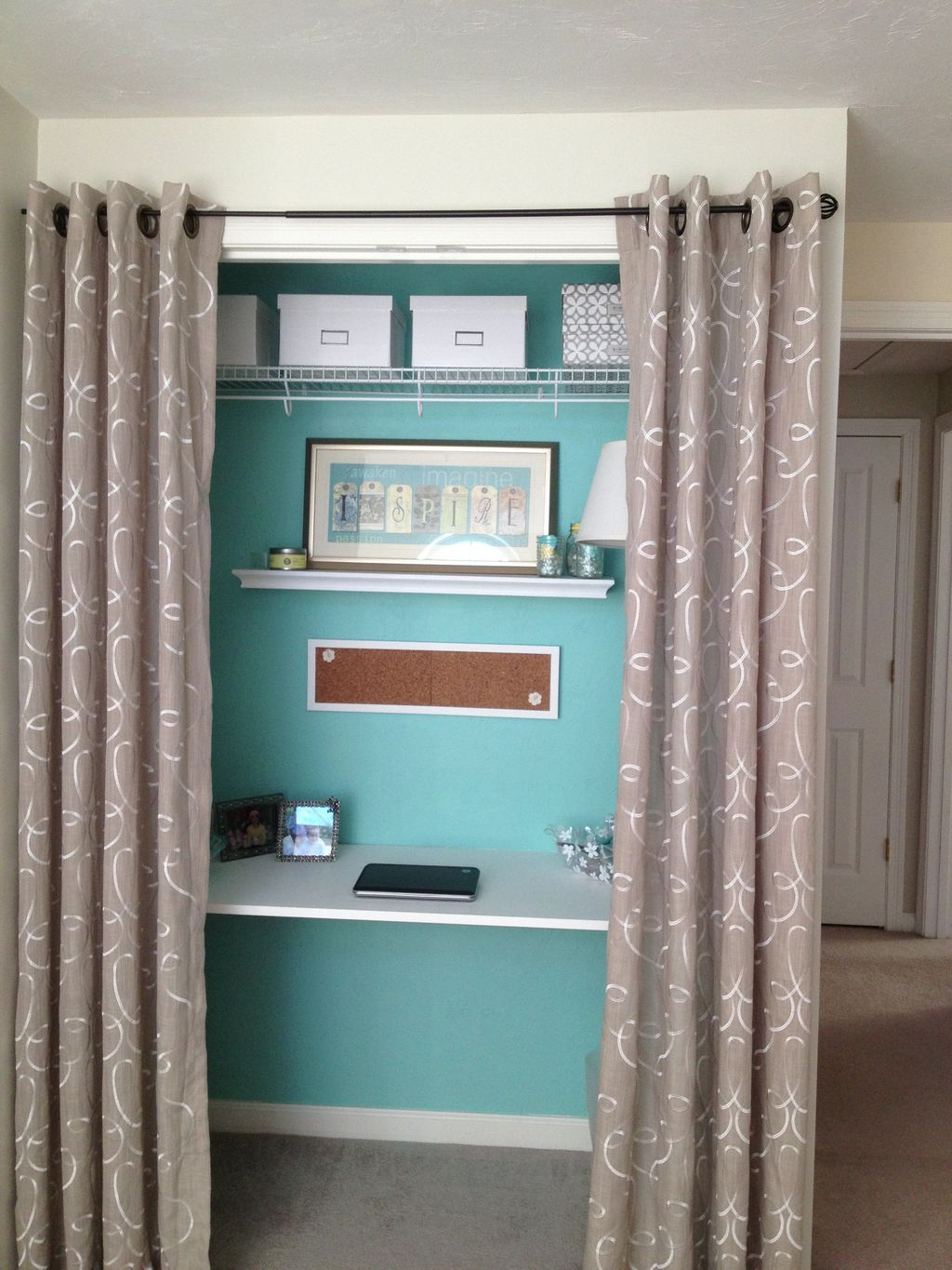 20 awesome diy closet door curtains ideas curtains for