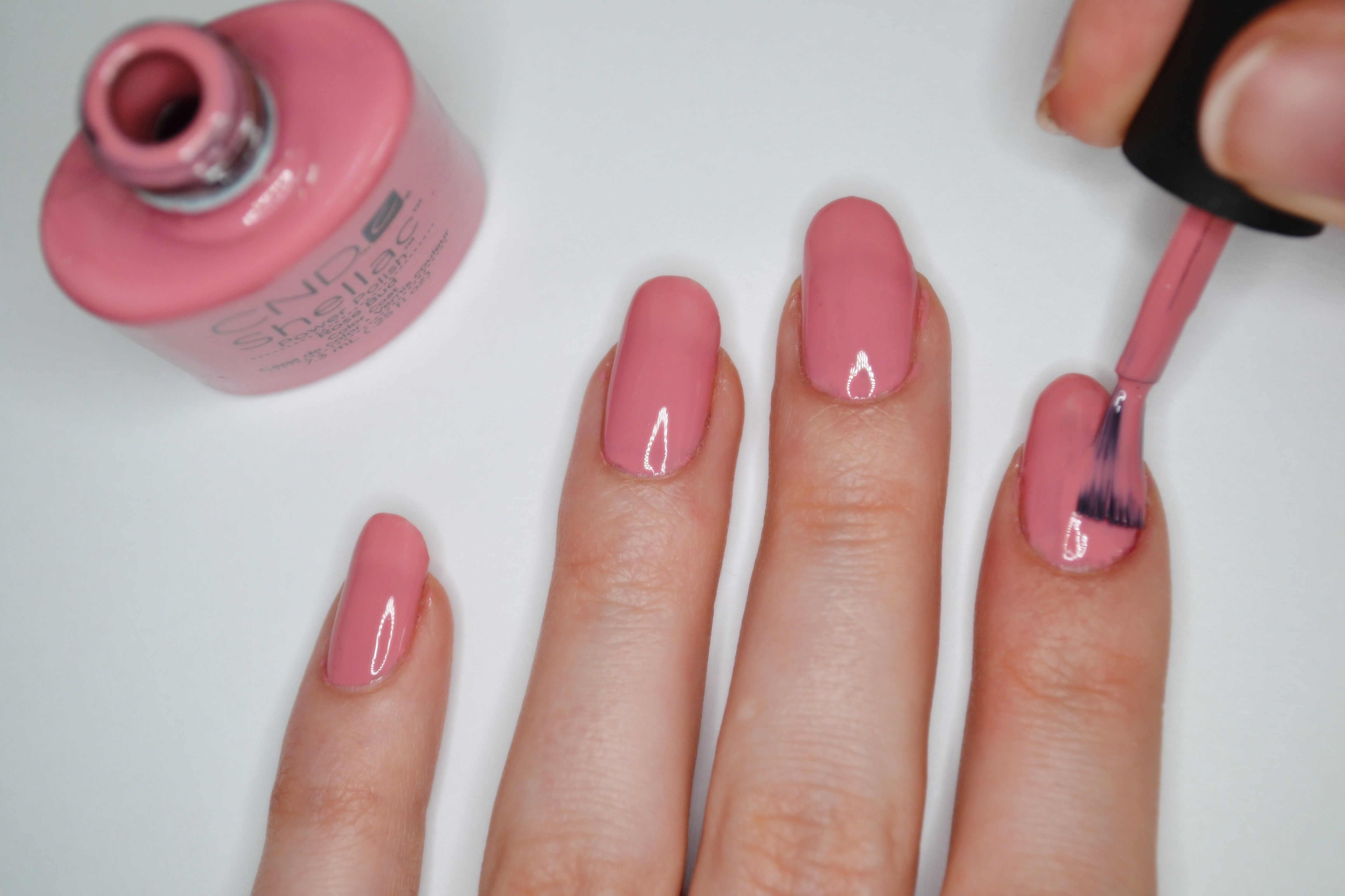 Покрытие ногтей гель лаком фото пошагово
