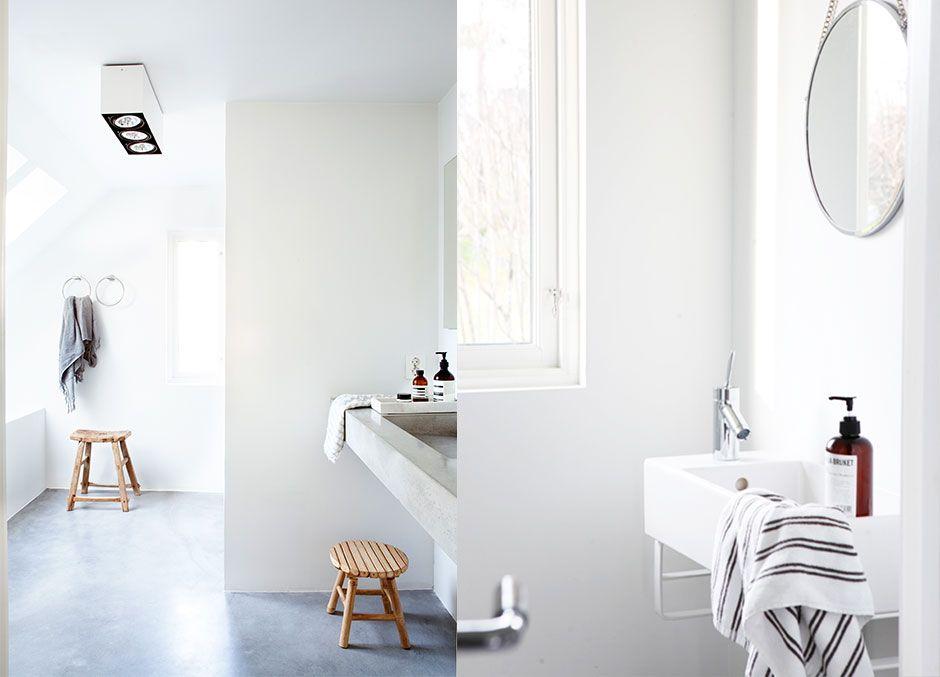 Sammen med tømmermester-ektemannen har interiørdesigneren skapt et nydelig hjem for både ro og hektisk familieliv.