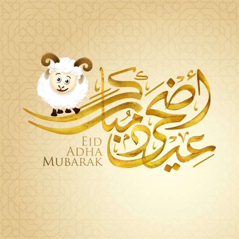 صور عيد الاضحى 2018 بطاقات تهنئة عيد اضحي مبارك 1439 Eid Al Adha Greetings Eid Wallpaper Eid Greetings