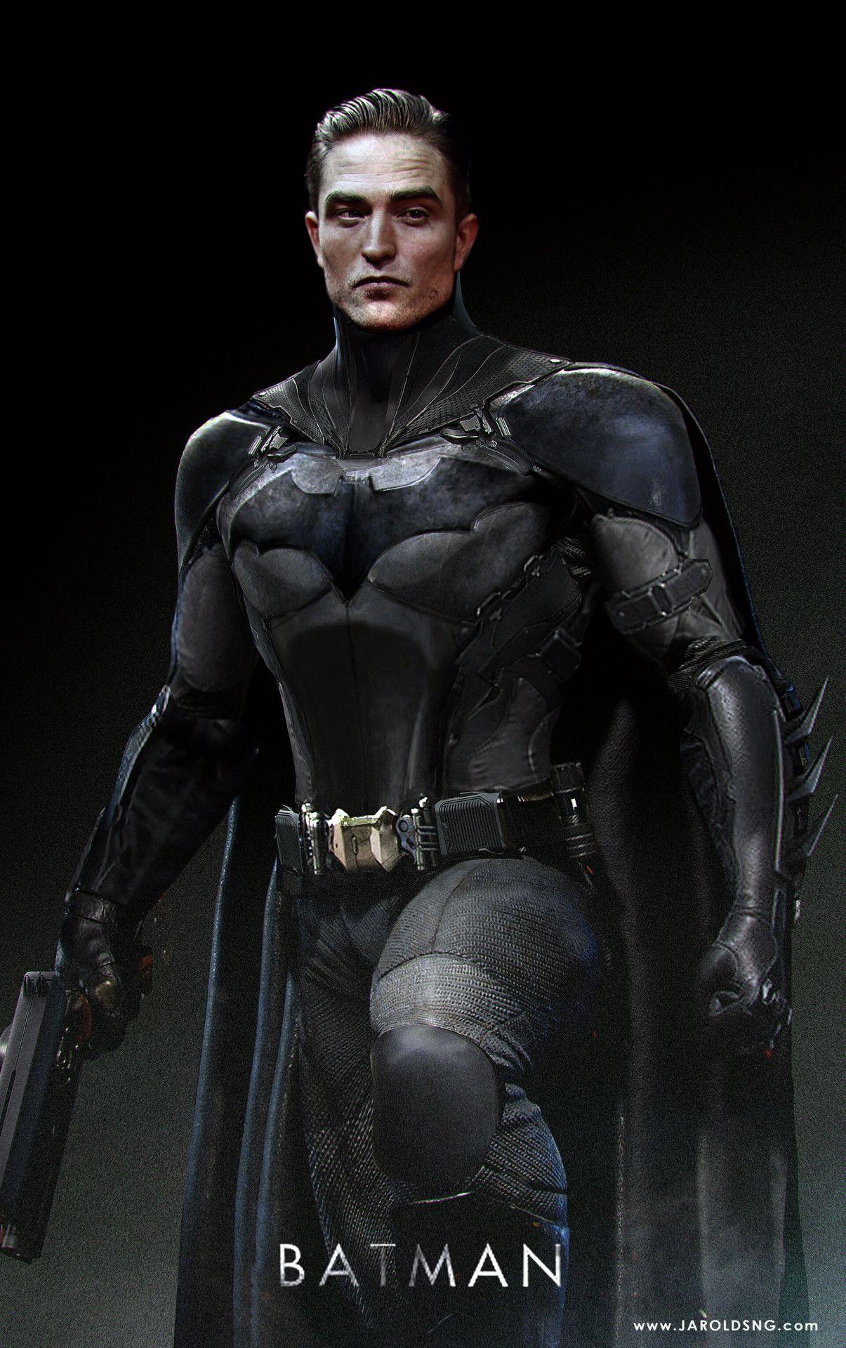 BATMAN NOTES — Batman Concept Art Robert Pattinson in ...