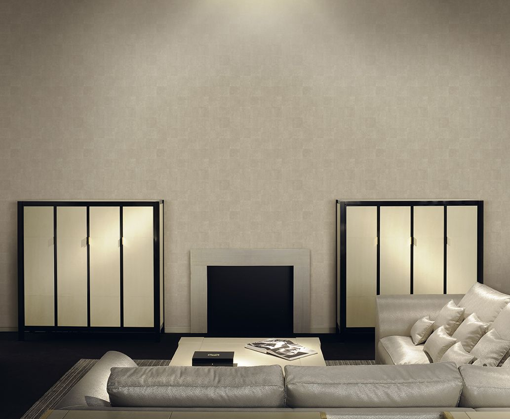 Nuevo Papel pintado Armani Refined Structures. Diseño Montmartre cuadros galuchat. Disponible en www.papelanddeco.com
