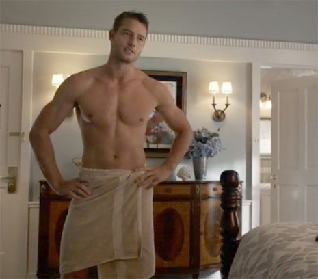 Image result for Justin Hartley Shirtless