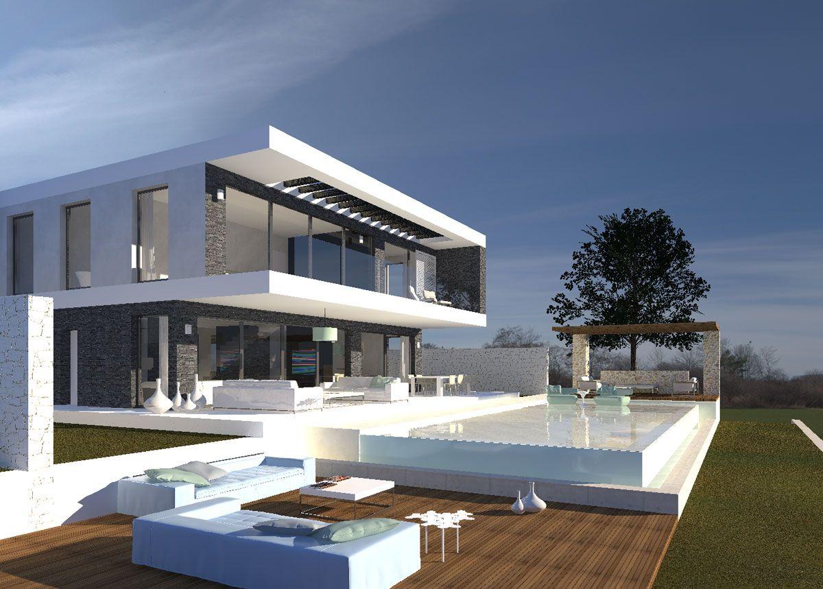 Http Modern Villas Com Designs Index Html House Outer Design Modern House Plans Modern House Exterior