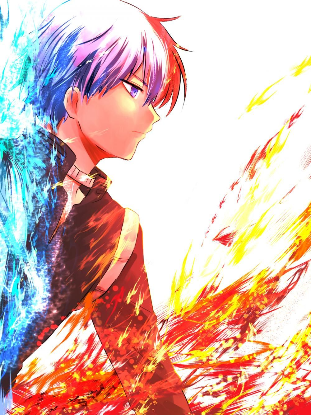 Todoroki Shouto//Me encanta Boku no Hero Pinterest