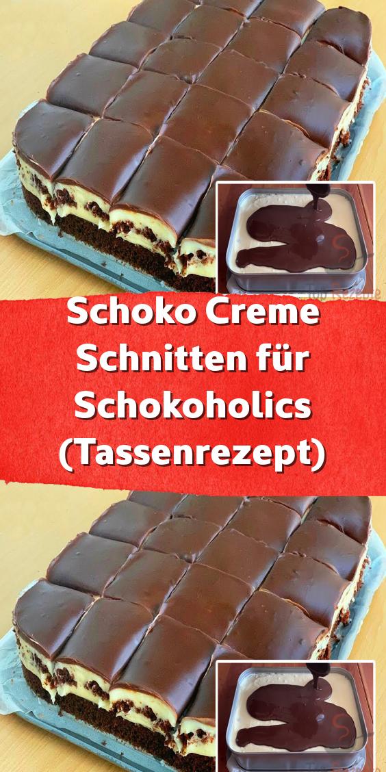 Schokoladencremewaffeln für Schokolade (Tassenrezept)