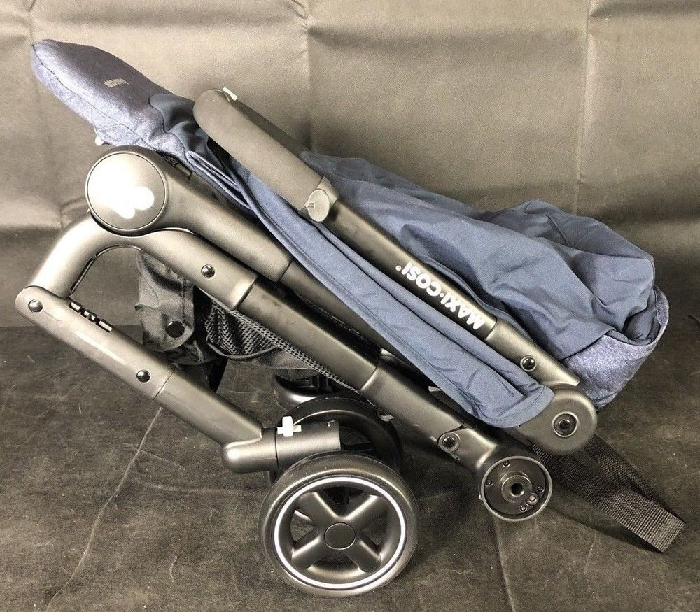 Britax Pathway Lightweight One Hand Fold  Single Baby Stroller Crew NEW 2018