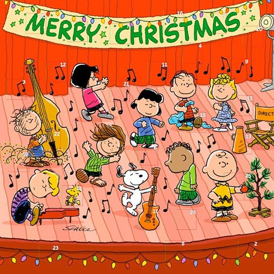 lists meaningful family things to do each day: Peanuts Christmas ...