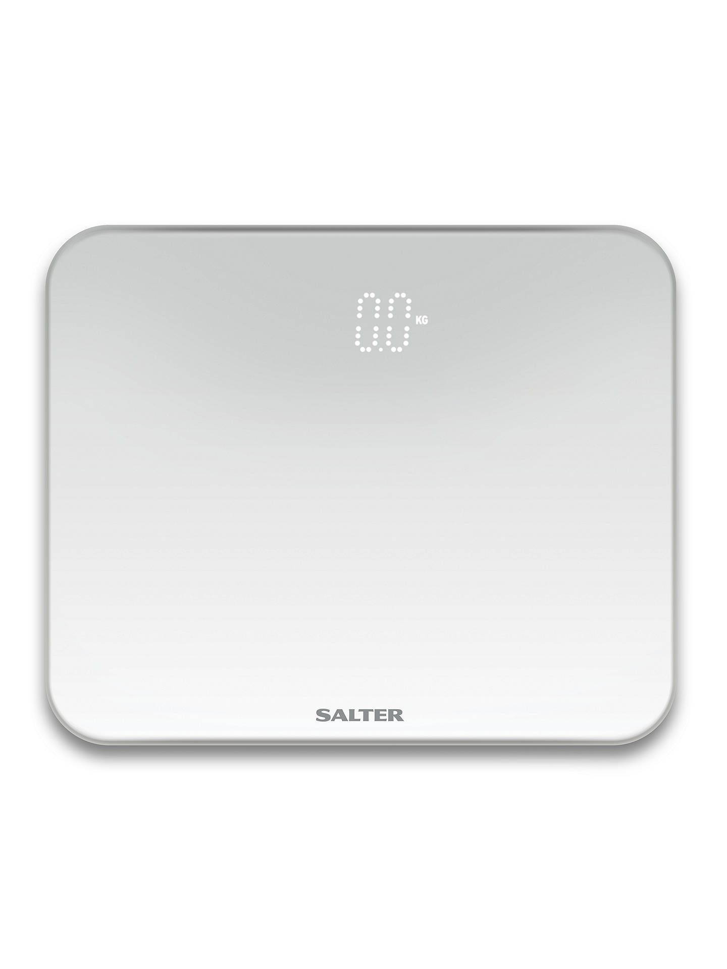 Salter 9204 Led Bathroom Scale Ghost Led Scale