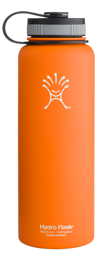 40 Oz Wide Mouth Water Bottle Insulated Stainless Steel Water Bottle Hydroflask