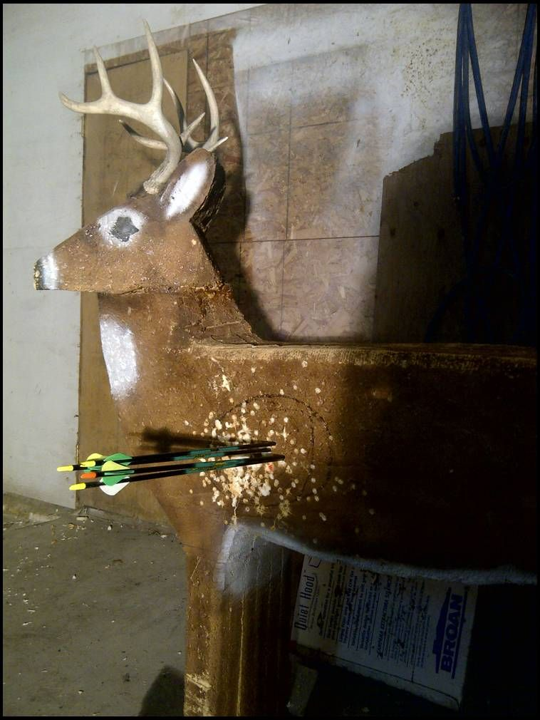 How To Make Your Own 3d Archery Target 4h Shooting Sports