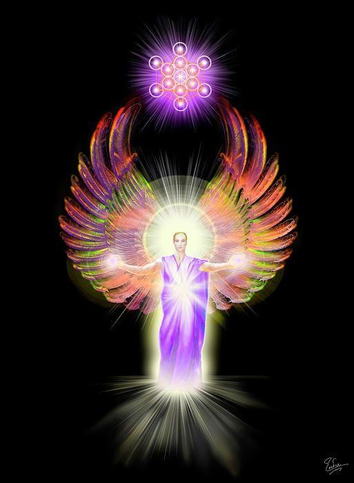 Metatron By Endre Balogh Energia Pinterest Angel Archangel