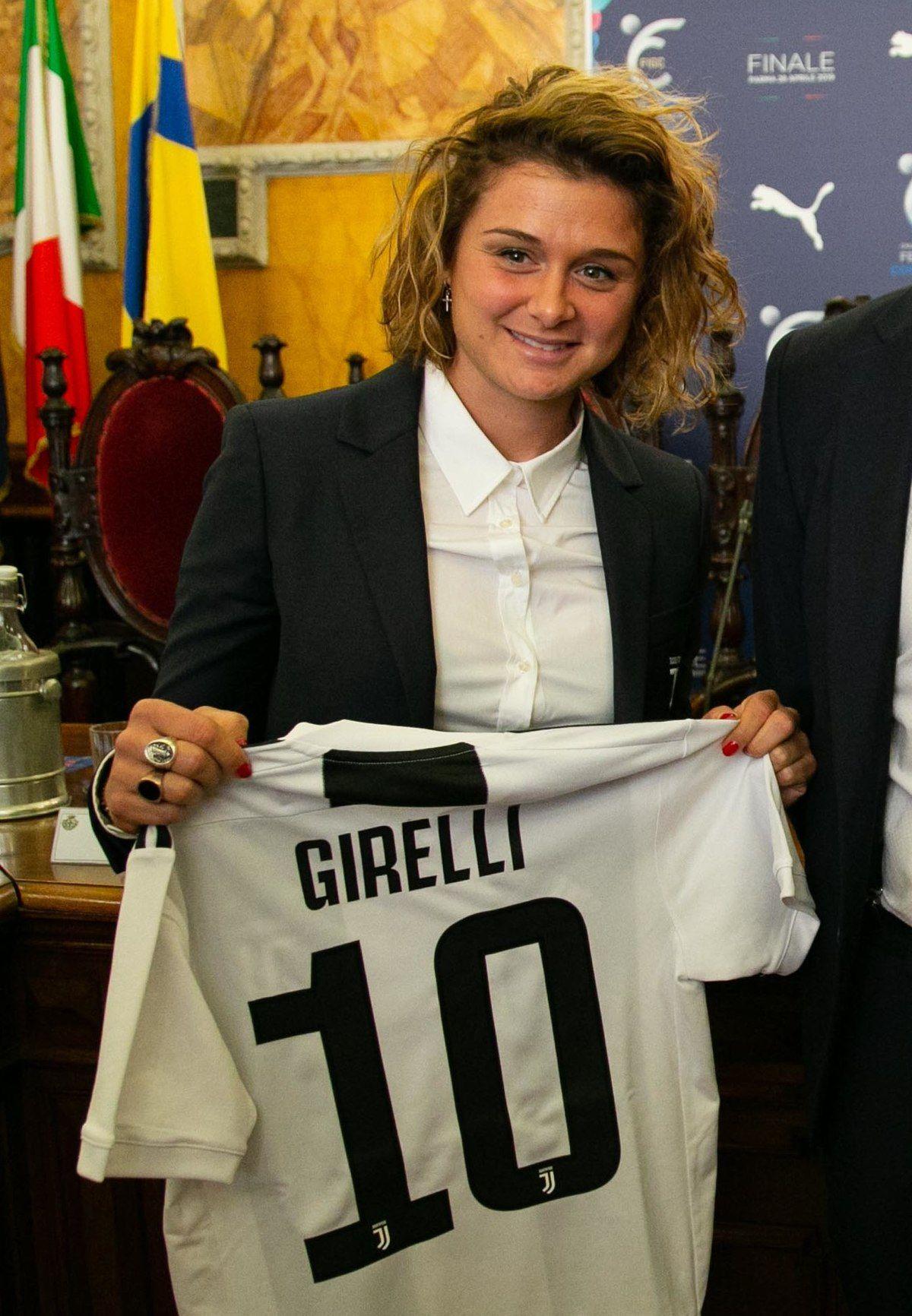 Cristiana Girelli Juventus Girelli Calciatrici Calcio