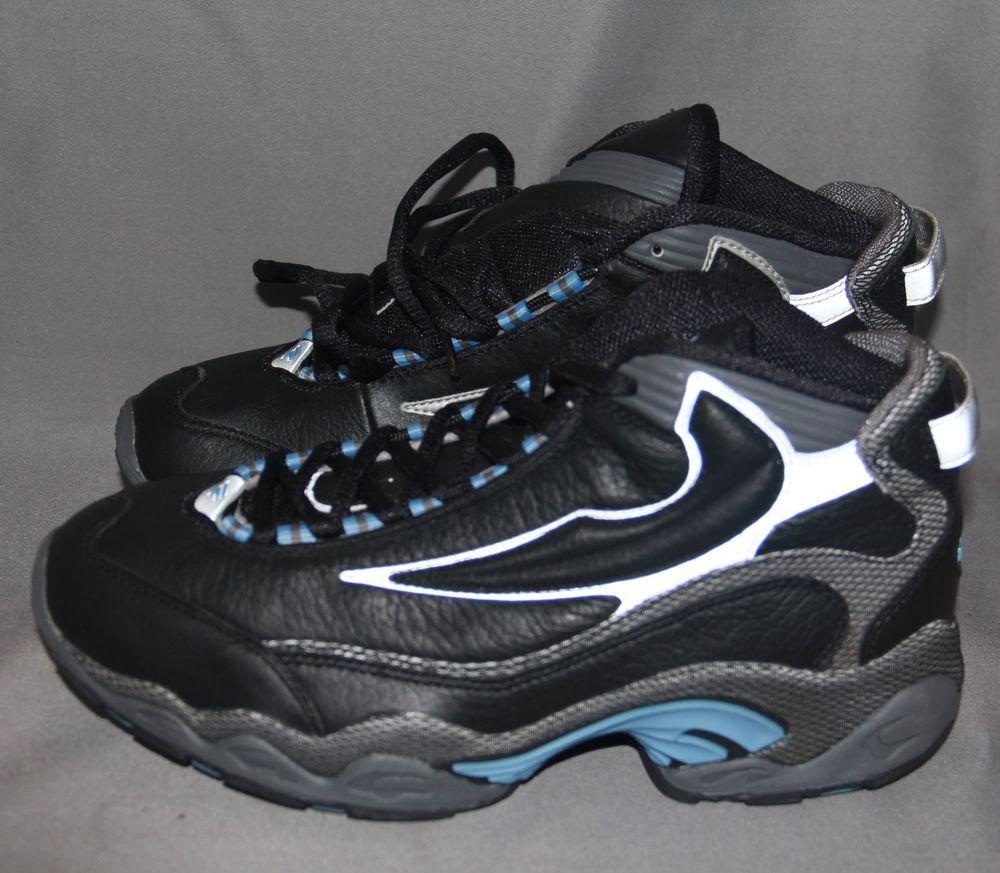67dec91de948 Women s fila running shoes black silver blue 31b356a-030 us size 6 eur 38.5  uk 5