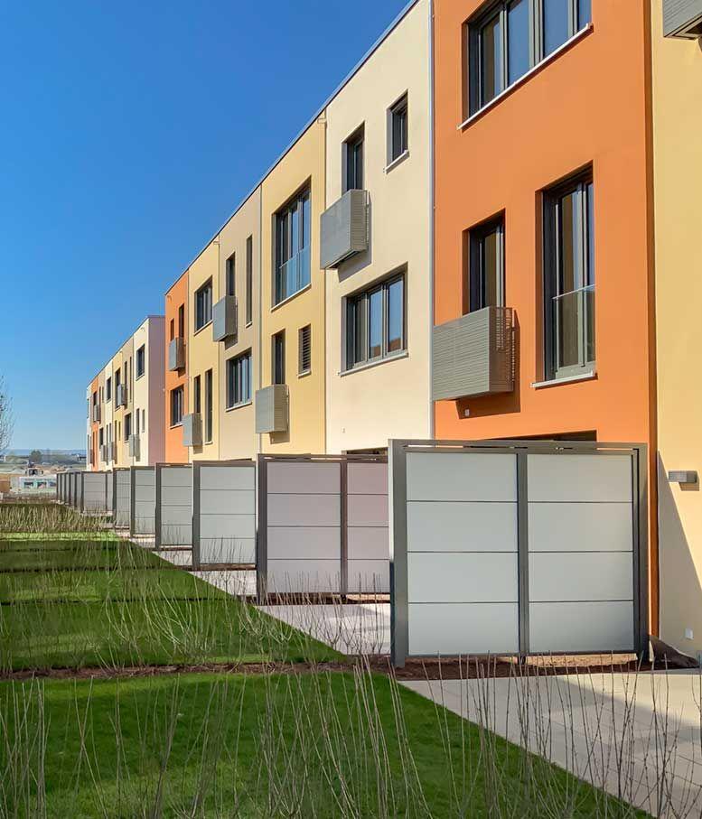Sichtschutz Terrassenabtrennung In 2020 Eingang Uberdachung Sichtschutzwande Eingangsuberdachung