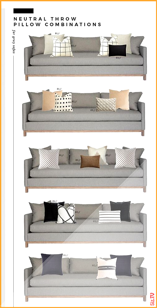 Neutral Throw Pillow Combinations for White and Gray Sofas Room for Tuesday c Neutral Throw Pillow Combinations for White and Gray Sofas Neutral Throw Pillow Combinations...