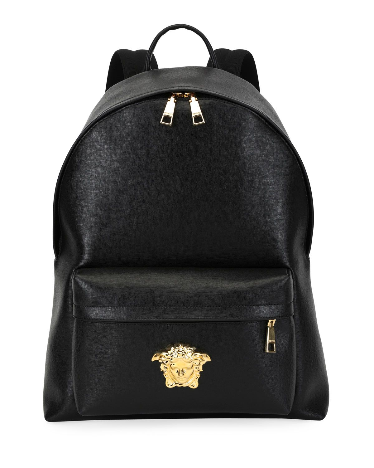 8db50a9fc30 VERSACE MEN'S LEATHER MEDUSA BACKPACK. #versace #bags #leather #nylon # backpacks
