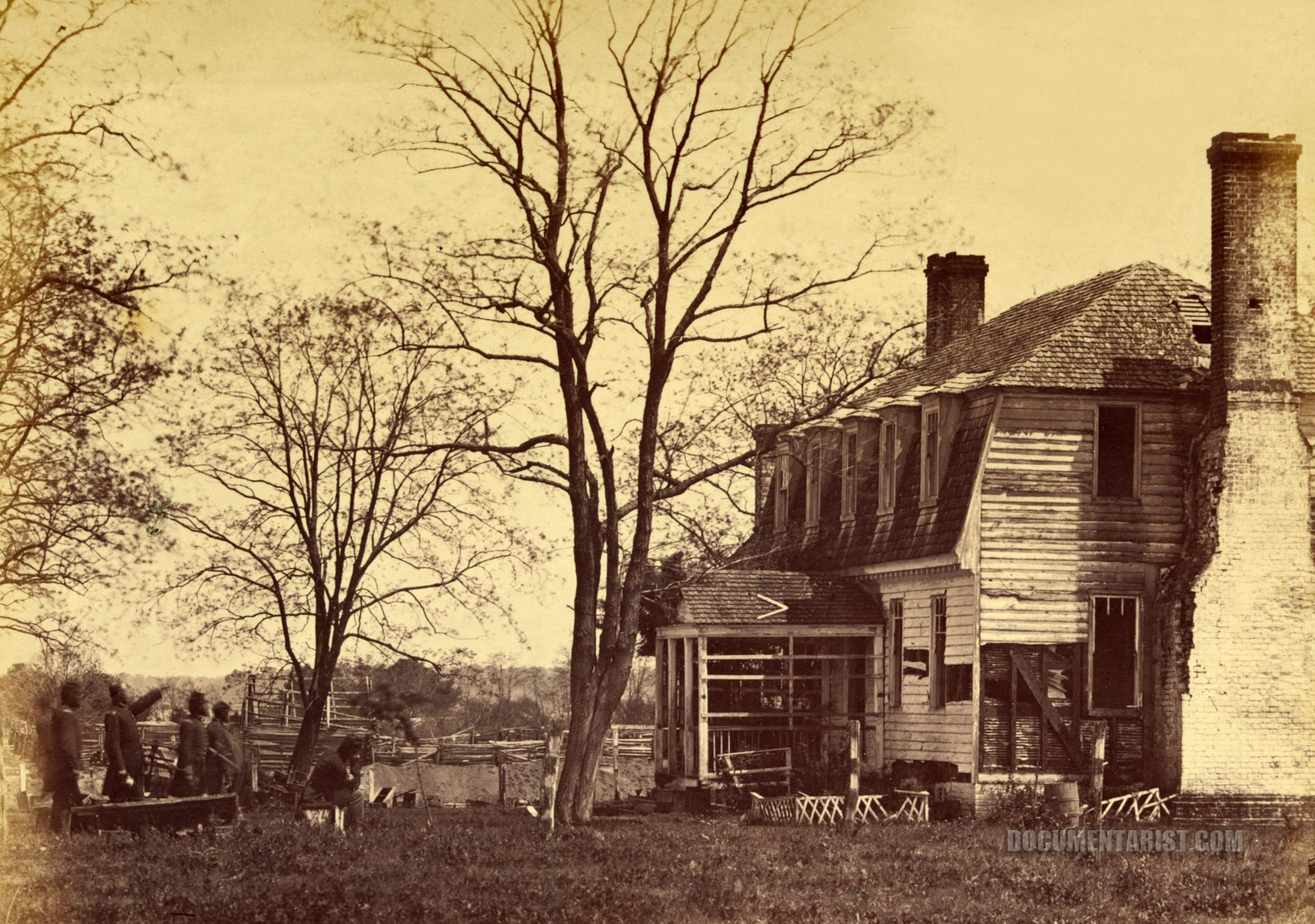 Moore House Where Cornwallis Signed The Capitulation