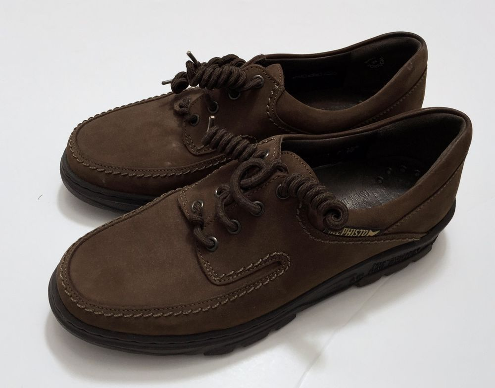 "MEPHISTO ""City Hiker"" Men's Brown Leather / Suede Oxfords Size 9 US/8.5 EUR"