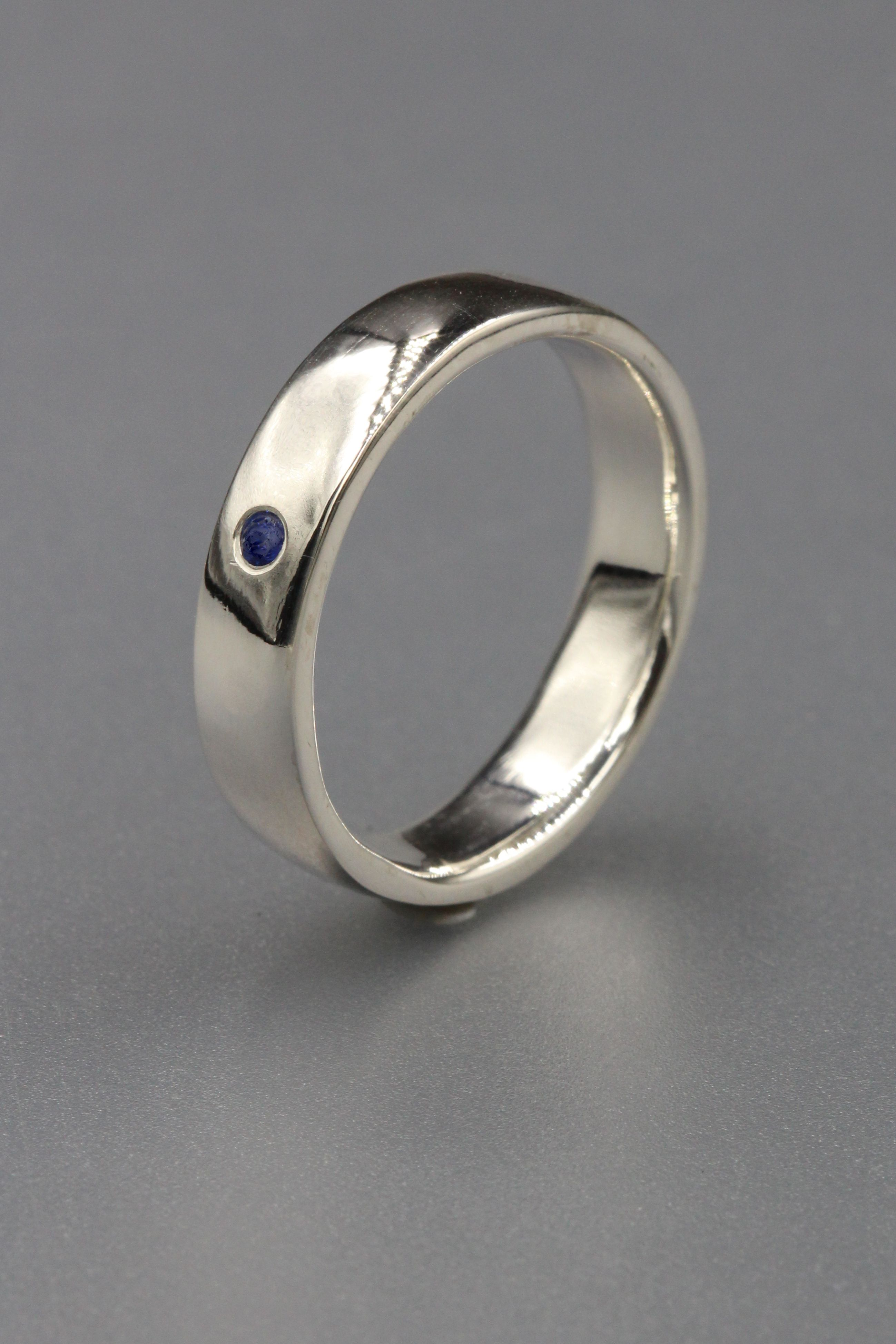 Mens Rings Silver Wedding Bands Mens Rings Silver Blue Sapphire Etsy Blue Stone Ring Jewelry Rings Engagement Women Rings